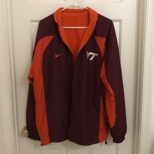 Nike Fleece Reversable VT Jacket Size XL
